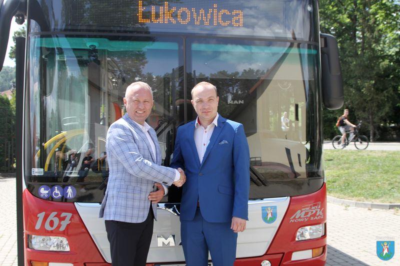 Autobusy MPK będą kursowały do Gminy Łukowica