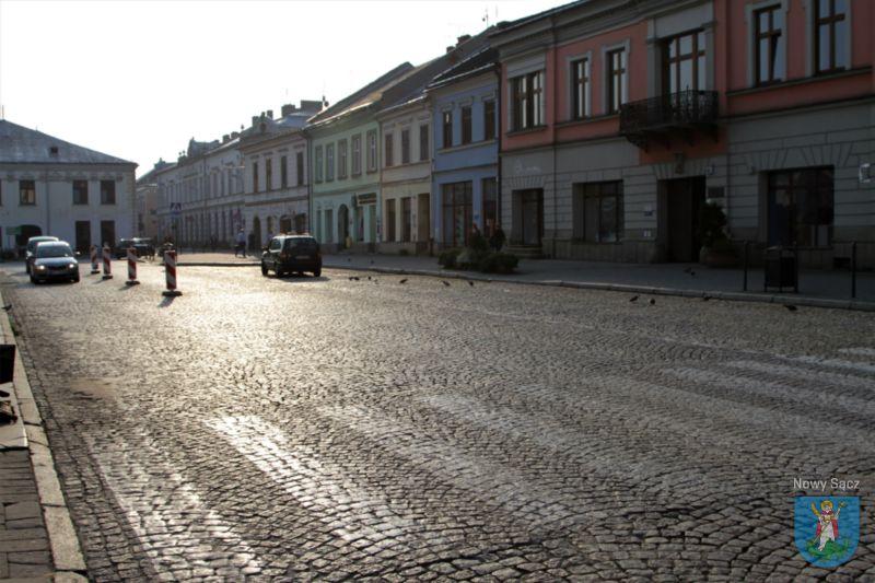 Zamknięcie Rynku od Lwowskiej do Dunajewskiego