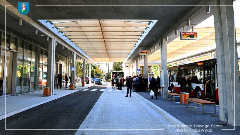 Dworzec MPK w Nowym Sączu