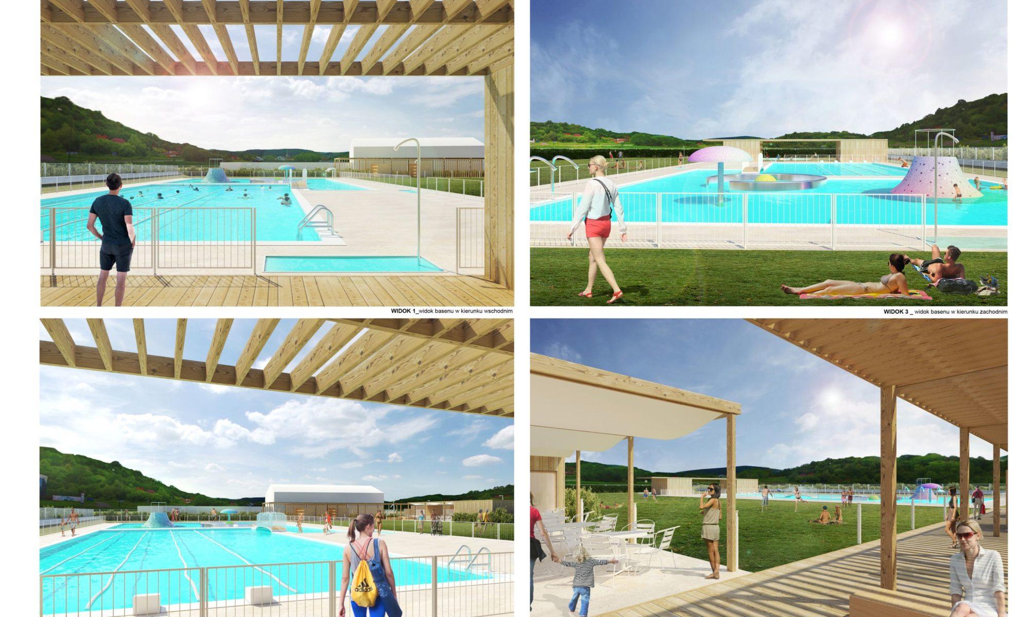 przebudowa basenu nad łubinką nowy sącz