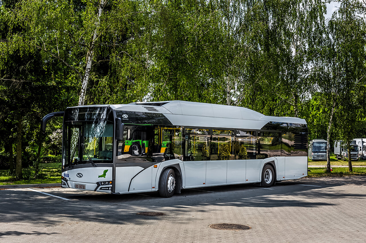 Nowe autobusy CNG w Nowym Sączu