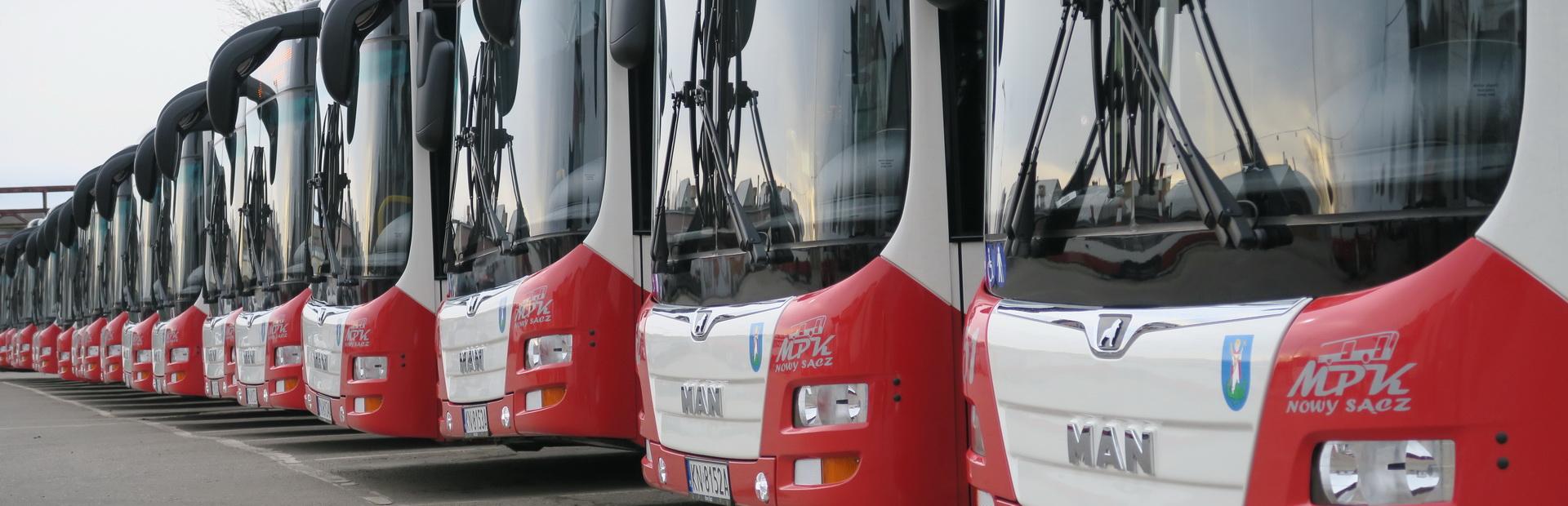 Zmiana rozkładu jazdy MPK Nowy Sącz