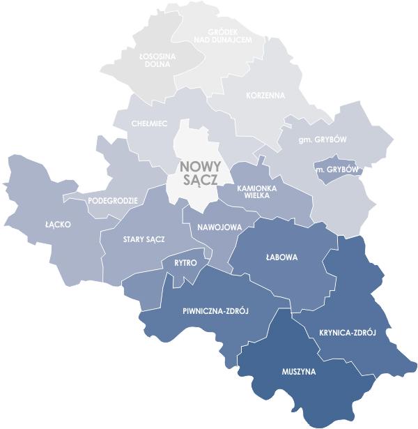 Koronawirus w Nowym Sączu i powiecie nowosądeckim